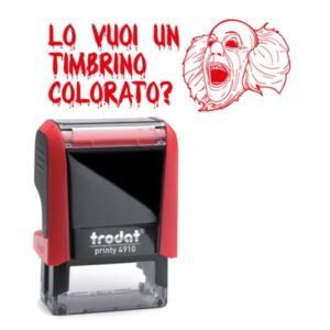 printy 4910 personalizzato IT timbrino colorato