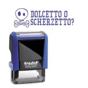 printy 4910 personalizzato dolcetto o scherzetto