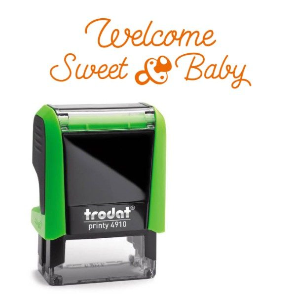 printy 4910 personalizzato welcome sweet baby
