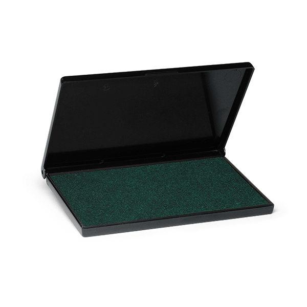 Cuscinetto per timbri in gomma - verde