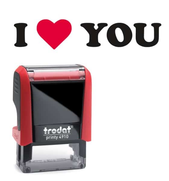 printy 4910 timbro speciale amore