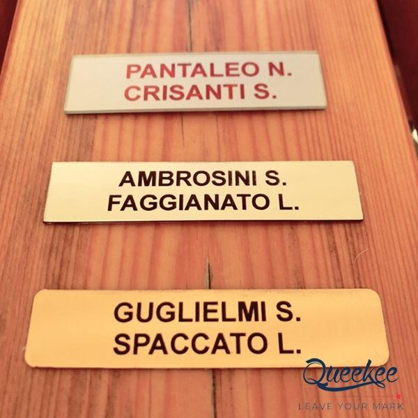 Targhetta Cassetta Postale.Targhette Per Cassette Postali