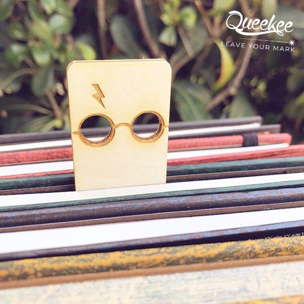 Segnalibro legno Harry Potter wood bookmark