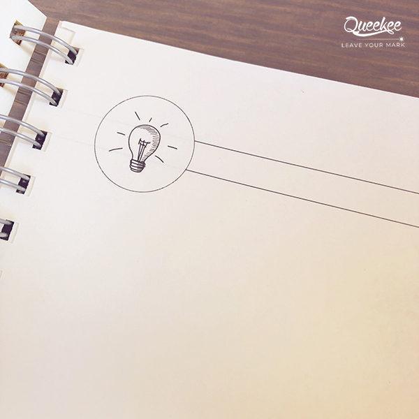 """Dettaglio carta speciale per Quaderno """"idea"""" personalizzato con copertina in legno"""