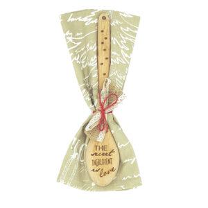 cucchiaio di legno personalizzato