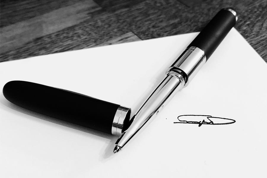 penna timbro personalizzata