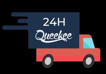 spedizione h24 queekee