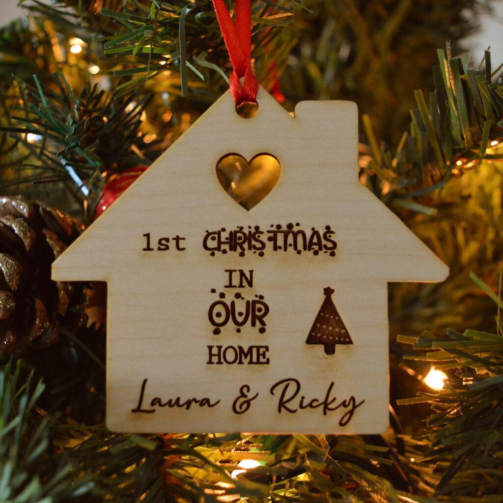 decorazione natalizia casetta