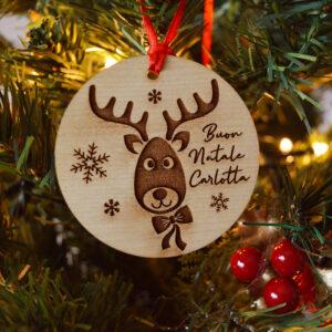 decorazione natalizia renna