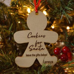 decorazione natalizia omino di marzapane