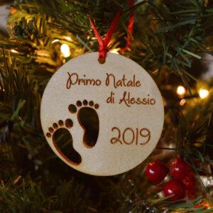 decorazione natalizia piedini