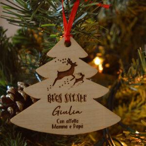 decorazione natalizia renne