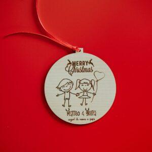 Decorazioni personalizzate Albero di Natale - Fidanzatini