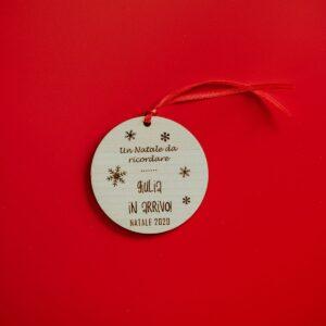 Decorazioni personalizzate Albero di Natale - Bebè in arrivo