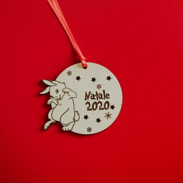 Decorazioni personalizzate Albero di Natale - Coniglietto