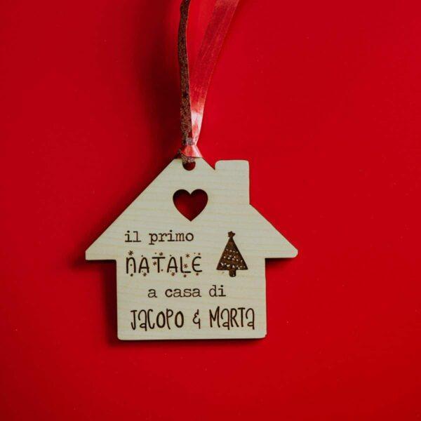 Decorazioni personalizzate Albero di Natale - Casetta 1st Christmas