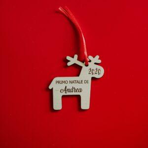 Decorazioni personalizzate Albero di Natale - Renne