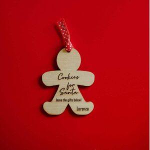 Decorazioni personalizzate Albero di Natale - cookies
