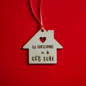 Decorazioni personalizzate Albero di Natale - Casetta