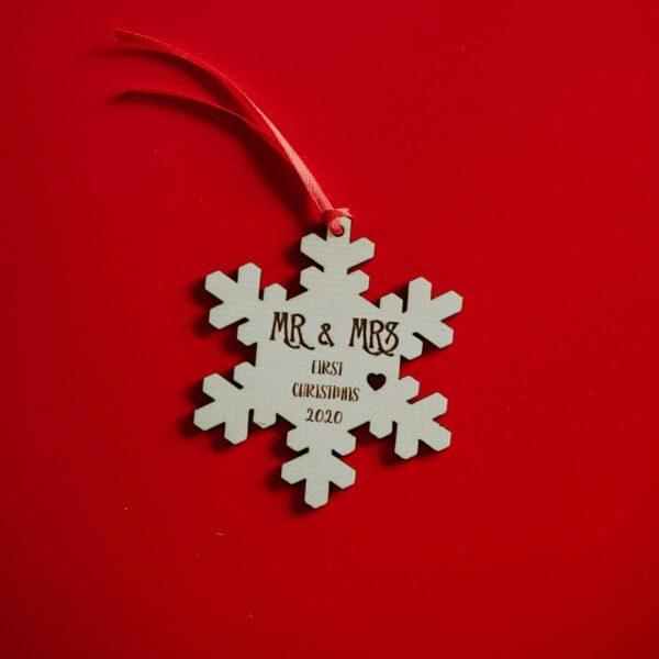 Decorazioni personalizzate Albero di Natale - Fiocco