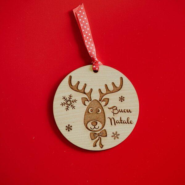 Decorazioni personalizzate Albero di Natale - Renna