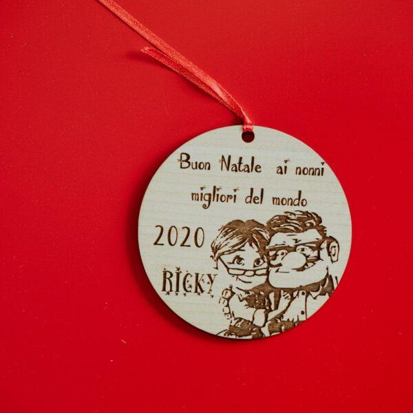 Decorazioni personalizzate Albero di Natale - Nonni