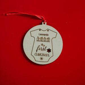 Decorazioni personalizzate Albero di Natale - Tutina