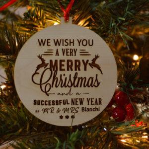 decorazione natalizia sposini