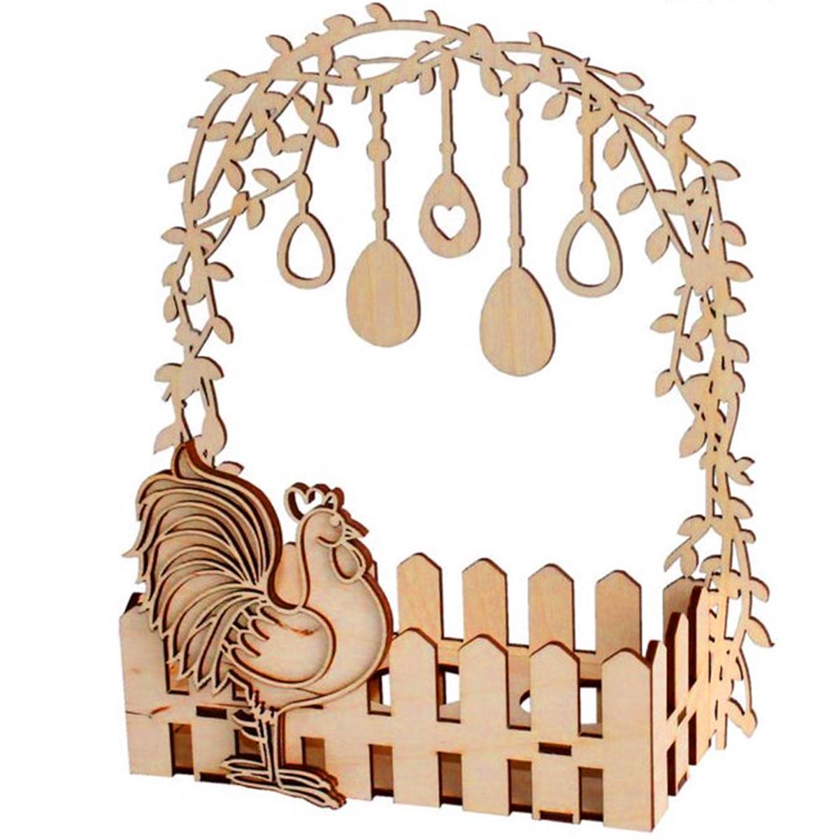 decorazioni pasquali - il gallo portauova