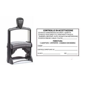 Trodat Professional 5211 - 85x55 mm- Timbro per alimenti