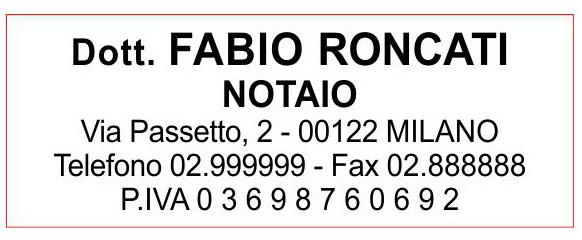 Trodat Pocket Printy 9511 - 37x14 mm - Timbro per liberi professionisti