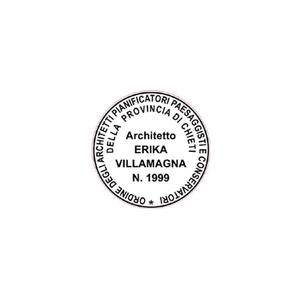 Trodat Printy 4638 - Timbro per architetto