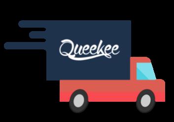 consegna corriere espresso queekee