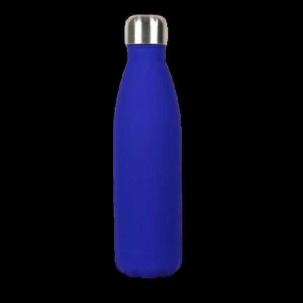 Borraccia in acciaio inox personalizzabile - Blu Navy