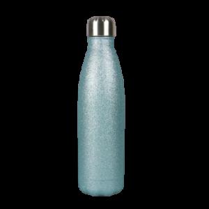 Borraccia in acciaio inox personalizzabile - Glitter Menta