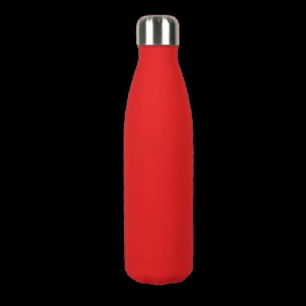 Borraccia in acciaio inox personalizzabile - Rosso