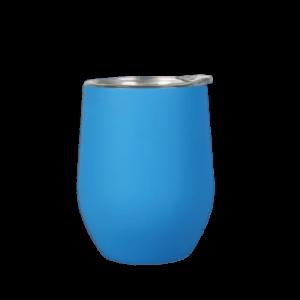 tazza in acciaio inox personalizzata turchese