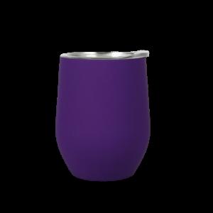 tazza in acciaio inox personalizzata prugna