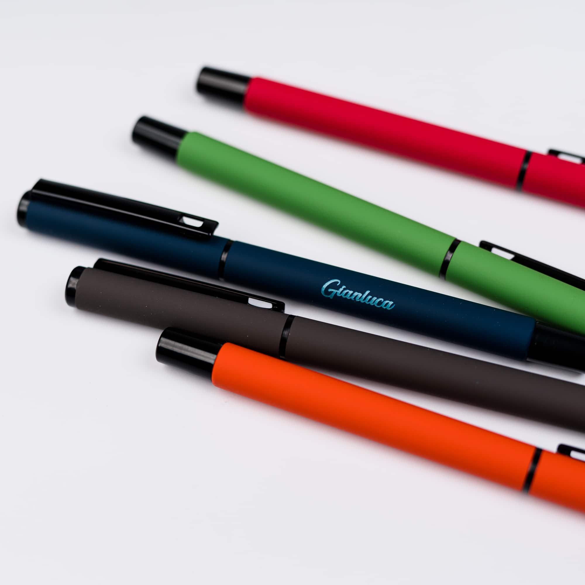 Penna roller personalizzabile con incisione