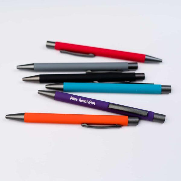 Penna a sfera personalizzabile con incisione